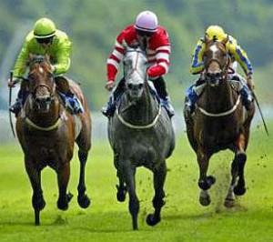 horse racing double